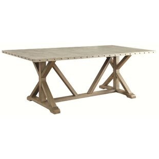 St. Regis Wooden Dining Table Gracie Oaks