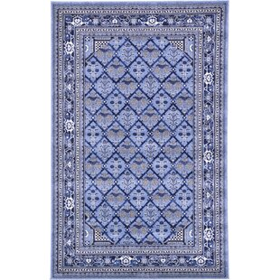 Katiranoma Blue Area Rug by World Menagerie