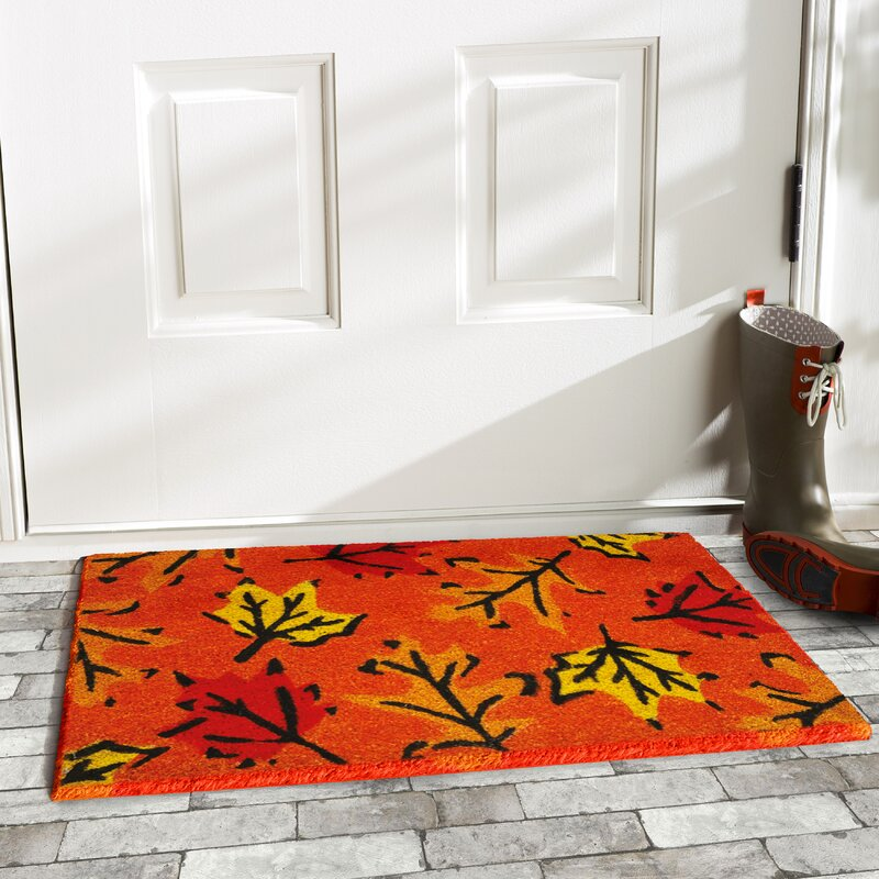 Fall Leaves Doormat
