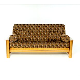 Jaya Box Cushion Futon Slipcover