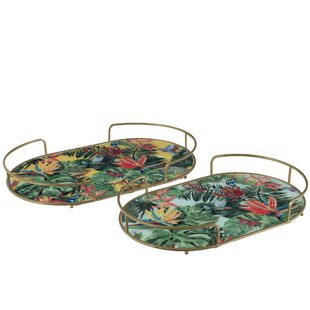 Engelhard 2 Piece Serving Tray Set (Set Of 2) By Bay Isle Home