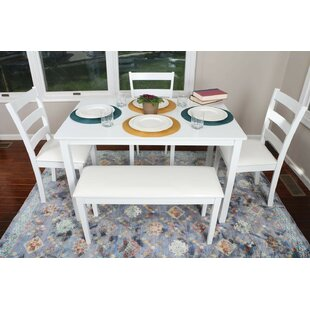Oak Brook 5 Piece Dinning Set by Winston Porter