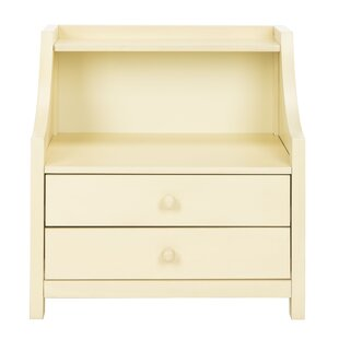 Gracie Oaks Busey 2 Drawer Nightstand