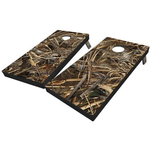 West Georgia Cornhole Realtree Max 5 Full Camo 10 Piece Cornhole Set