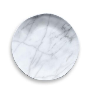 Grant Marble Melamine Salad Plate (Set of 6)