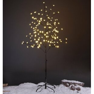 The Holiday Aisle Cherry Blossom Lighted Tree 144 LED String Lights