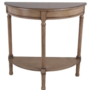 Keithley Half Round Console Table by Charlton Home