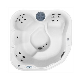 Lifesmart Spas Sierra DLX 5-Person 22-Jet Plug and Play Spa with Waterfall and Ozone System