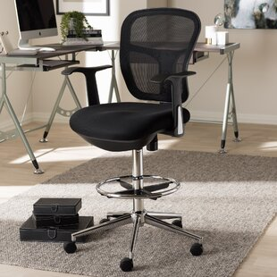 Kromer Mesh Drafting Chair by Symple Stuff Spacial Price