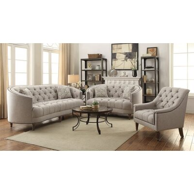 Bon Hayhurst 3 Piece Living Room Set