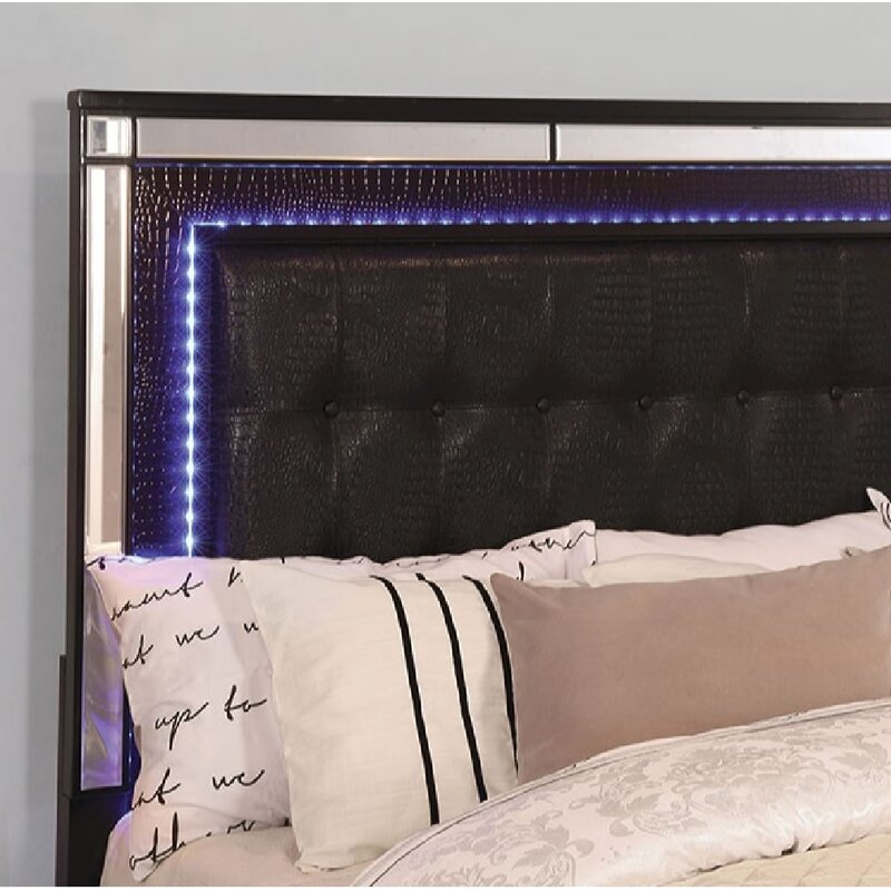 Everly Quinn Havana Upholstered Standard Bed Wayfair