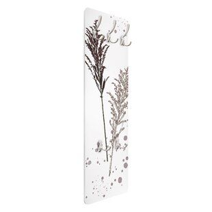 Fescue Reeds Wall Mounted Coat Rack By Symple Stuff