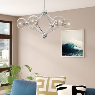 Bargain Valetta 6-Light Geometric Chandelier By Wade Logan