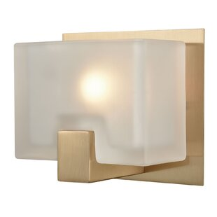 Tegan 1-Light Bath Sconce by Mercer41
