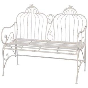 Melrose International Metal Garden Bench