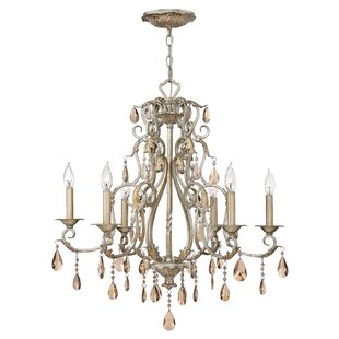 Carlton 6-Light Chandelier by Hinkley Lighting