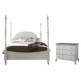 Bailes Four Poster Configurable Bedroom Set by Canora Grey Looking for