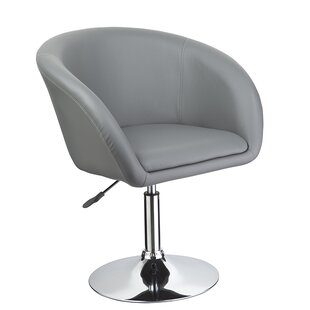 Mcphee Adjustable Swivel Barrel Chair Wade Logan