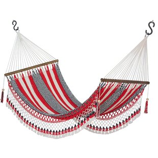 Kaeden Celebration And Relaxation Cotton Rope Camping Hammock by Bloomsbury Market New Design