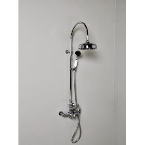 Thermostatic Exposed Shower Set With With Lever Handle