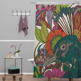Deepak Alexis and The Flowers Single Shower Curtain