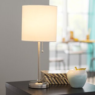 Hotel lamps with outlets wayfair zainab 195 table lamp aloadofball Gallery
