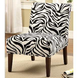 Fabric Slipper Chair by A&J Homes Studio