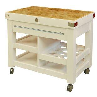 Bertram Kitchen Cart By August Grove