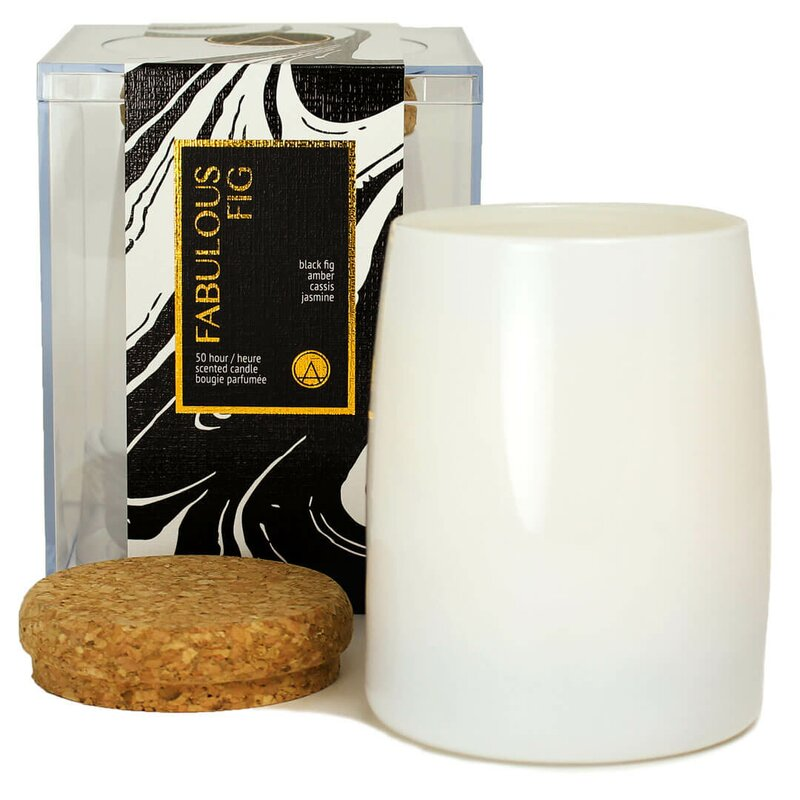 Fabulous Fig And Jasmine Scented Jar Candle