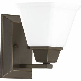 Jadyn 1-Light Bath Sconce by Ebern Designs