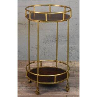 Colona Circular Bar Cart by Brayden Studio
