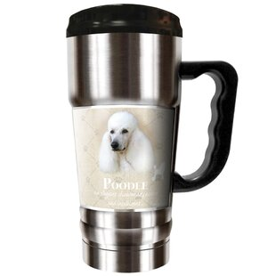 Howard Robinson's Poodle 20 oz. Stainless Steel Travel Tumbler