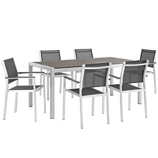Orren Ellis Coline 7 Piece Dining Set