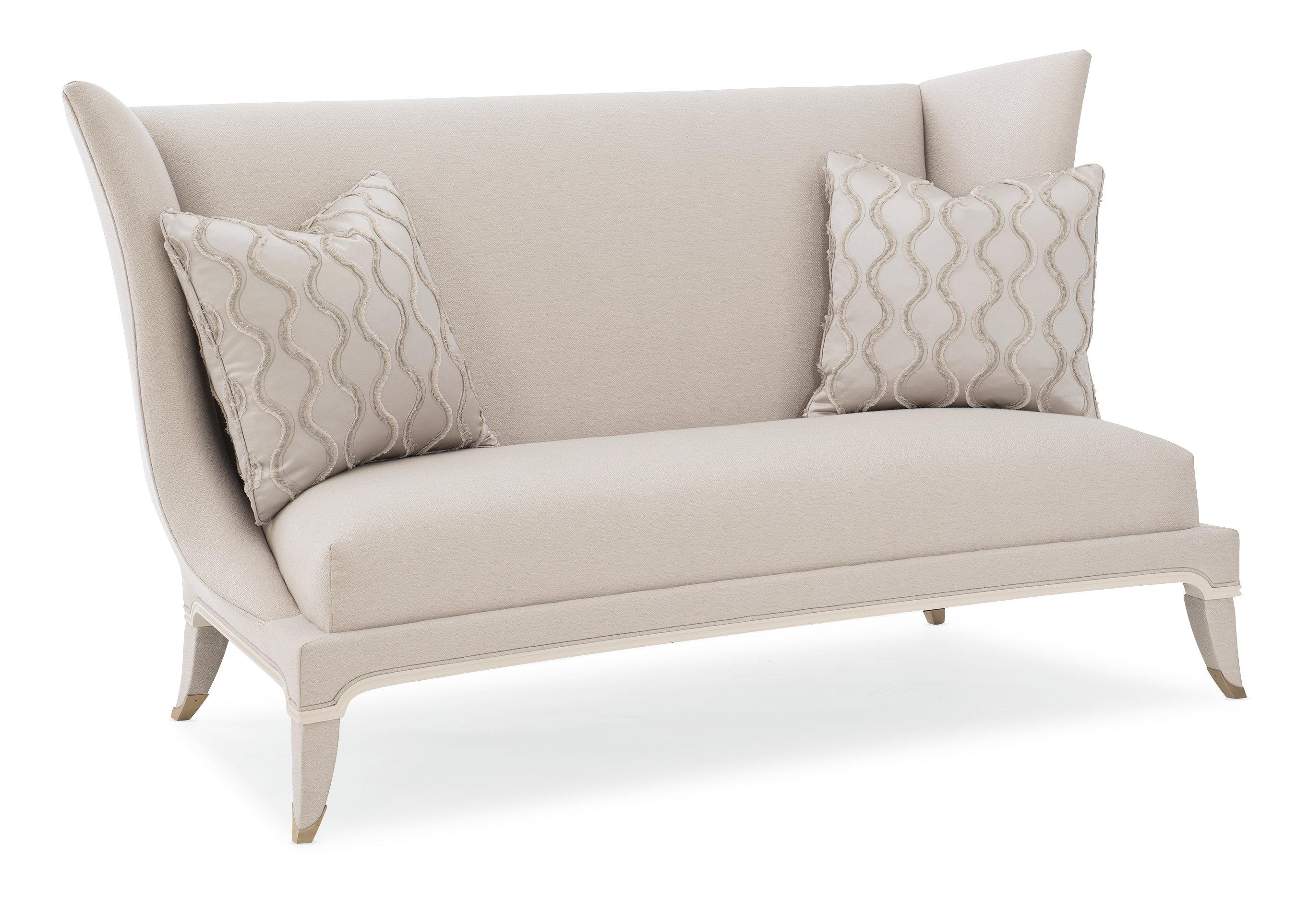 Double Date Wingback Sofa