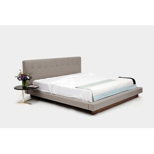 LRG Upholstered Platform Bed
