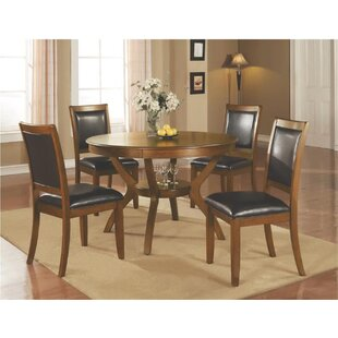 Leigh Woods 5 Piece Dining Set Alcott Hill