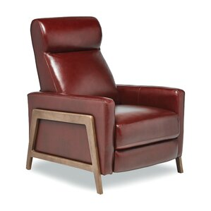 Kenny Leather Manual Wall Hugger Recliner  sc 1 st  AllModern : modern recliner - islam-shia.org
