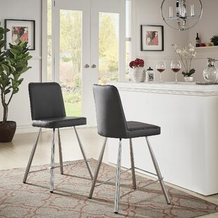 Lewallen 24.8 Bar Stool (Set of 2) by Orren Ellis