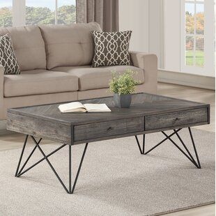 Kamille Coffee Table with Storage