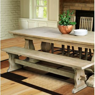 Mac Balustrade Solid Wood Dining Table