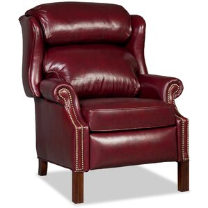 Chippendale Leather Power Recliner  sc 1 st  Wayfair & Wing Chair Recliners Youu0027ll Love | Wayfair islam-shia.org