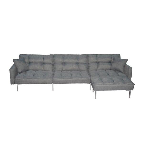 Ivy Bronx Pelzer 109 Wide Right Hand Facing Sleeper Sofa Chaise With Ottoman Wayfair