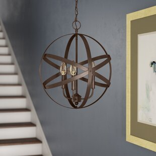 Emmaline 3-Light Globe Chandelier