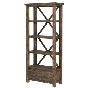 Myrtlewood Etagere Bookcase