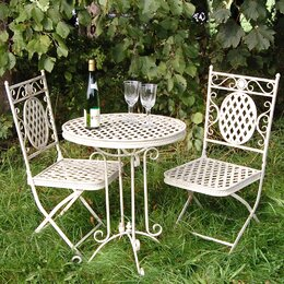 Beautiful Metal Dining Sets Design
