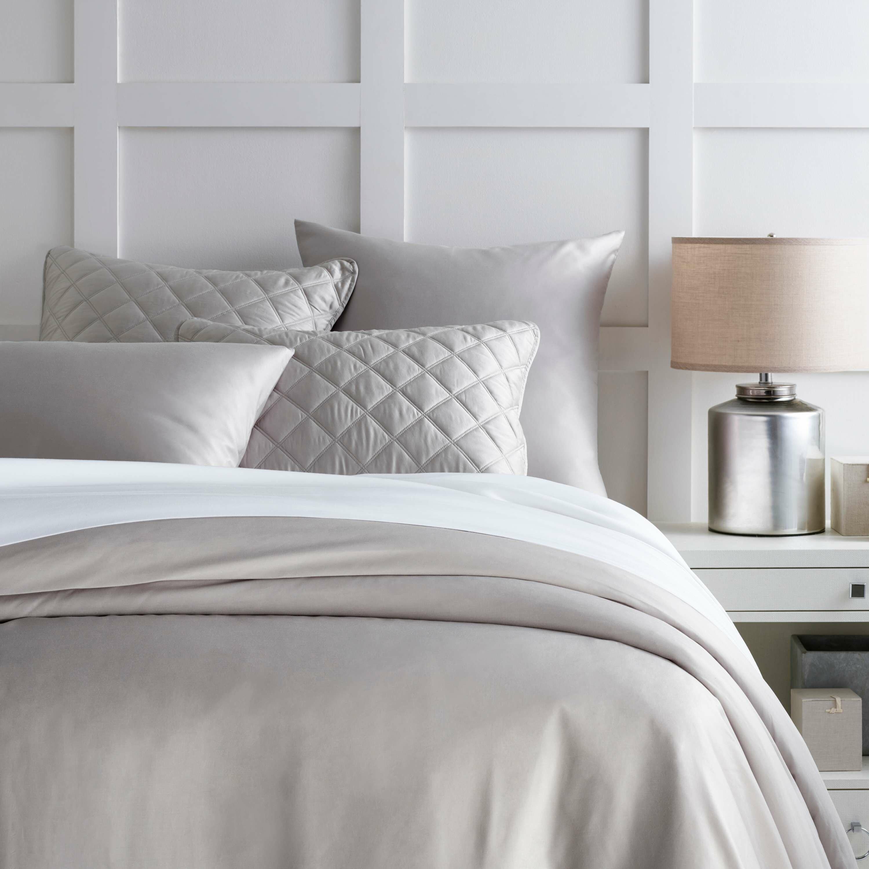 Pine Cone Hill Tencel Gray Silk Duvet Cover Wayfair