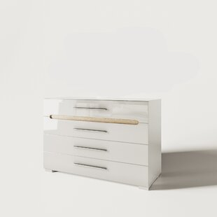 Charissa 4 Drawer Dresser by Orren Ellis Great price