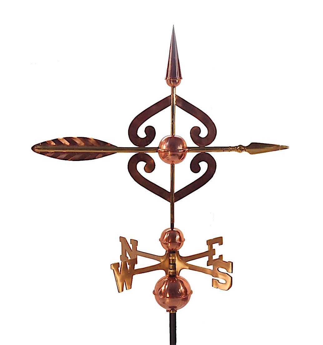 FREE SHIPPING Adjustable Aluminum Roof Mount for Weathervane or Finial