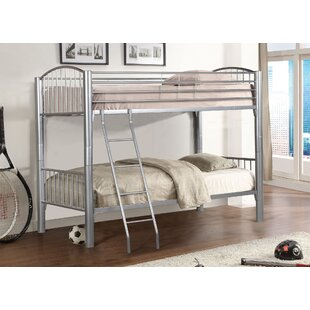Bellar Twin over Twin Bunk Bed by Harriet Bee