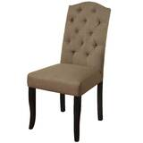 Ibanez Button Tufted Upholstered Dining Chair by Charlton Home